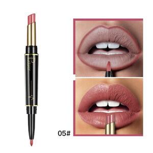 Pudaier-Neue-Frauen-Doppelkopf-Lippenstift-Lip-Liner-Matte-Matte-Lippenstift-KB