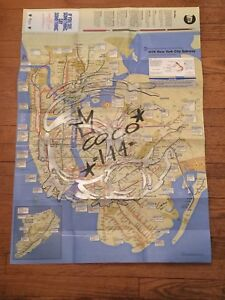 New York City Subway Map With Streets.Details About Coco 144 New York City Subway Map Graffiti Tag Crown Hip Hop King Street