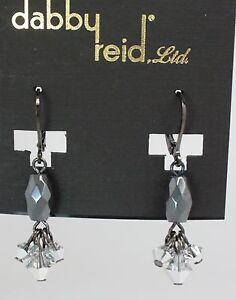 Image Is Loading Dabby Reid New Crystal Hemae Faceted Drop Earrings