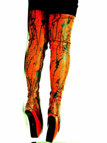 Handmade Latex Rubber Ballet Pony Plateforme Taille 7-16 produire bolingier Pologne