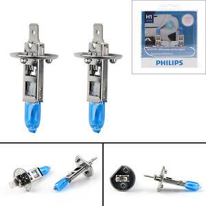 For-Philips-H1-Diamond-Vision-5000K-Luces-Halogen-Lampara-12V-55W-Auto-Bombilla