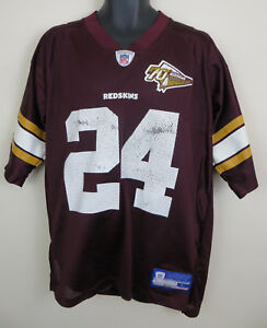 huge discount 1d0a0 82576 Details about NFL Washington Redskins 70th Anniversary Bailey American  Football Jersey Large L