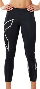 2019 Fashion 2xu 7/8 Womens Long Compression Tr2 Tights Black Online Discount Pants Women's Clothing