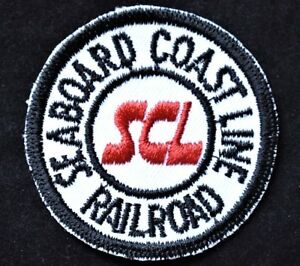 Vintage-Railroad-Sew-On-Patch-Seaboard-Coastline-Railroad-SCL-Railroadiana