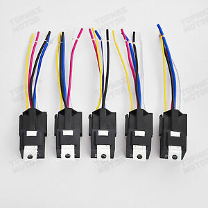 Detalles acerca de 5PCS 30 40 AMP cableado de arranque Relé SPDT automotriz on pony harness, cable harness, electrical harness, radio harness, fall protection harness, engine harness, maxi-seal harness, battery harness, obd0 to obd1 conversion harness, suspension harness, amp bypass harness, dog harness, alpine stereo harness, safety harness, nakamichi harness, oxygen sensor extension harness, pet harness,