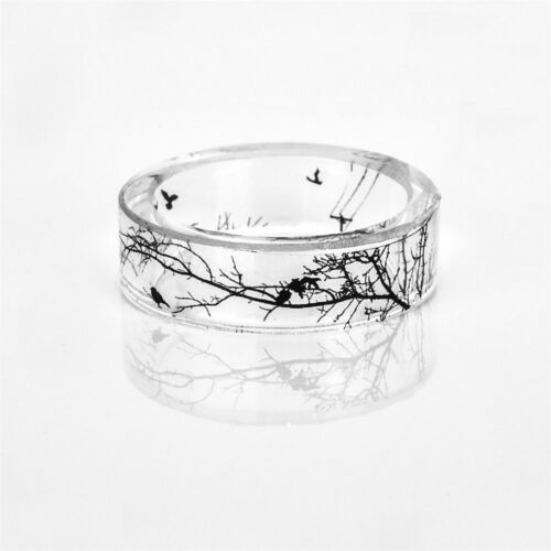 Unique Rings Hand Made Fashion Bat Epoxy Ring Ring Men Women