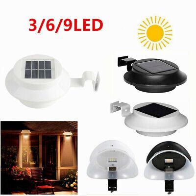 10 Stk 3 LED Solarlampe Solarkraft Fence Licht für Dachrinnen Außenlampe