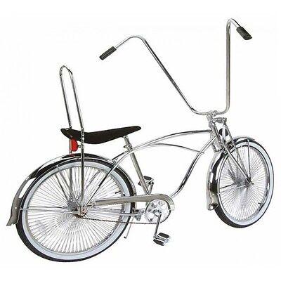 "Lowrider Bike Black Bicycle Chopper Cruiser Chain Guard W//Lines for 20/"" Frames"