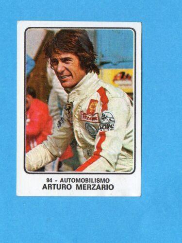 AUTOMOBILISMO-Rec CAMPIONI dello SPORT 1973//74-Figurina n.94 MERZARIO