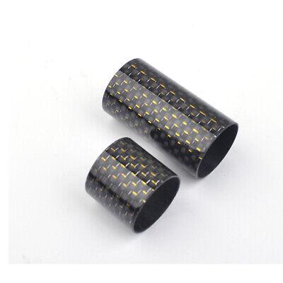 -Matte BLACK MCK22 Rodcraft Carbon Pipe for FUJI KDPS-16 nut Rod Building