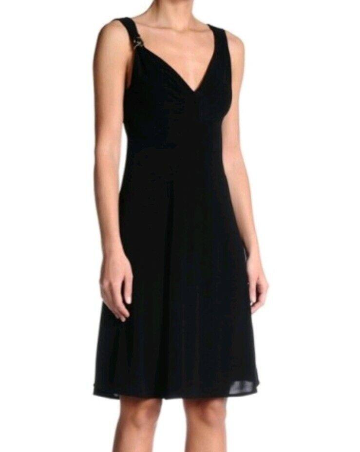 Juste Cavalli S04CT0505 robe noir taille ITA 42 UK 10