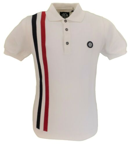 Soul Polo Ecru Ska Racing Polo Stripe 0Cwq5aznS