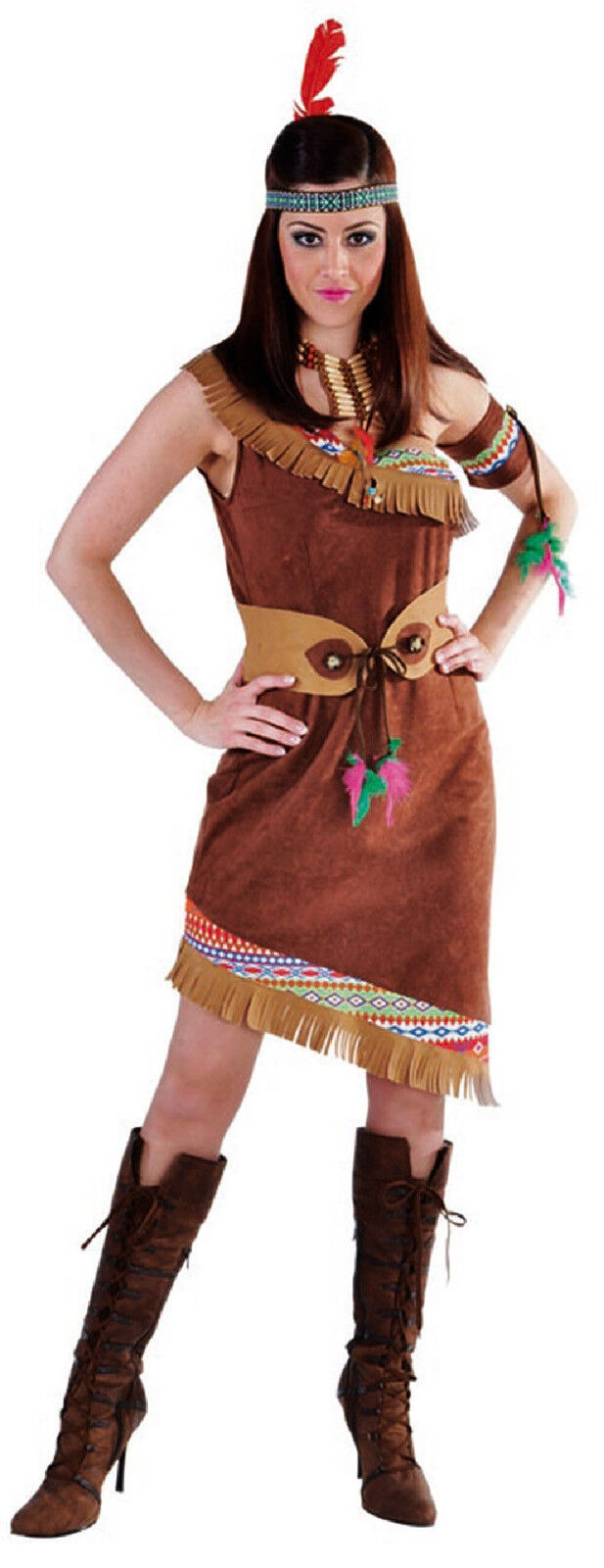 Sexy indiens indiens indiens robe costume squaw apache sioux indienne cow girl Indiens Costume 6f09b9
