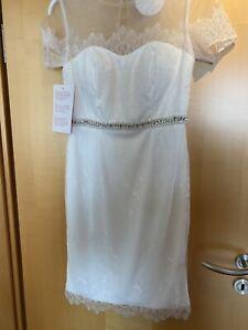 Standesamt Kleid Brautkleid Etui Cocktail 38 40 42   eBay