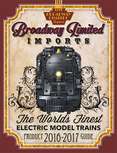 Broadway-Limit<wbr/>ed 2016-2017 Product Guide & Catalog Of Electric Trains NEW