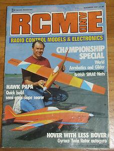 Confiant Rcm&e Magazine November 1987-afficher Le Titre D'origine