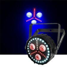 Chauvet fxpar 3 compatto multifunzione effetto PAR 56 LED Luce Stroboscopica RGB + UV DA DISCOTECA DJ