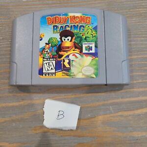 Diddy-Kong-Racing-N64-Nintendo-64-1997-Authentic-RareWare-Cartridge-Only-B