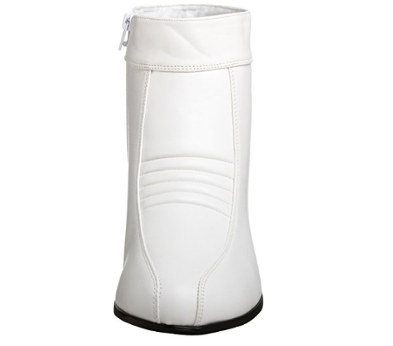 marchio famoso bianca bianca bianca Storm Trooper Star Wars Uomo stivali Disco 70s Pimp Costume scarpe Genuine  offrendo il 100%