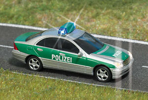 Busch HO 5630 Polizei Mercedes C-Klasse,  #NEU in OVP#
