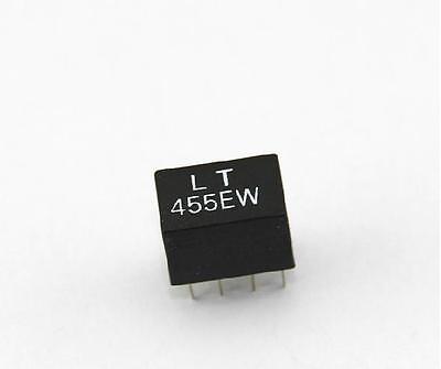 5Pcs LT455EW CFW455H Murata Equivalent Filter 6 Khz Total Bw 455Khz 5 Leg gg