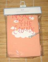 Gap Short Sleeve Pajama Head In The Clouds Orange Girl 12-18m 2t 3t 4t