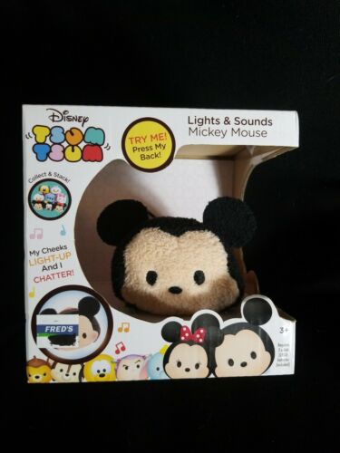 Disney TSUM TSUM~Lights and Sounds MICKEY MOUSE~NEW in package