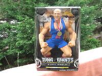 "JAKKS Pacific WWE Ring Giants 14"" Posable Action Figure Kurt Angle - 00039897934563 Toys"