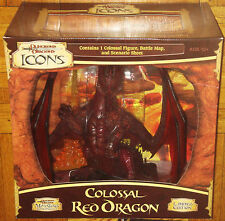 ADVANCED DUNGEONS & DRAGONS MINIATURES COLOSSAL RED DRAGON ICONS LIMITED EDITION