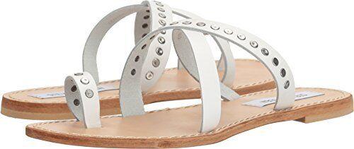 Steve Madden Damenschuhe Becky Toe Ring Sandale- Select SZ/Farbe.