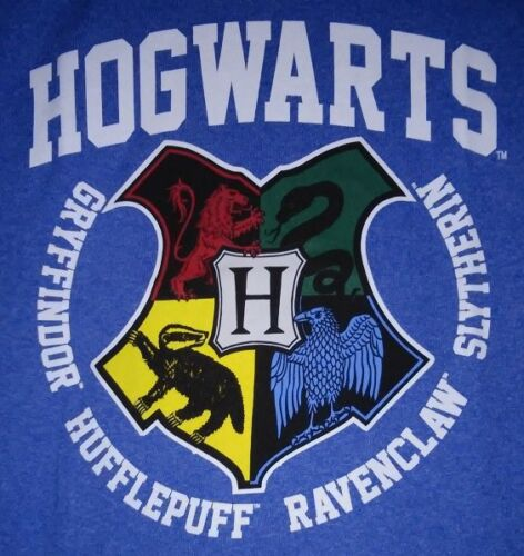 Harry POTTER Boys//Girls sz 4-5 6-7 8 Shirt HOGWARTS School Crests T-Shirt NEW