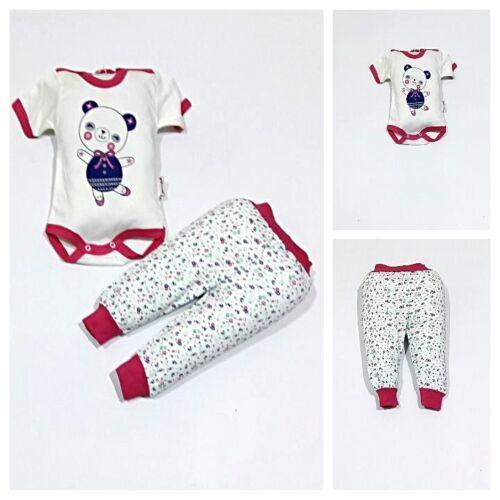 strampelhosetalla 62; 68 opaca, Nuevo ♥ ♥ ropa de bebé2 piezas