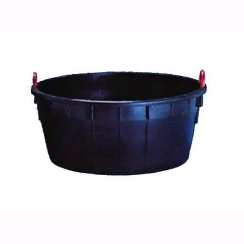 Mastellone In Plastica Con Maniglioni In Ferro Diam. 85xh.55cm. 230 Lt.-230