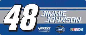 NASCAR-48-Jimmie-Johnson-3-5-034-X-9-034-Bumper-Sticker-Decal-New-for-2016