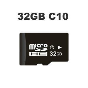 32GB-Micro-SD-Card-Class-10-Memory-SDHC-For-HD-1080P-GPS-Dual-Lens-WIFI-Camera