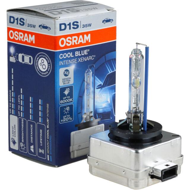 Originale Osram Cool Blu Intense Xenarc D1S 35W PK32d-2 Xenon Bruciatore Lampada