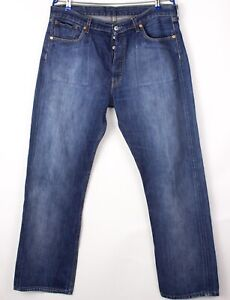 Levi's Strauss & Co Hommes 501 Jeans Jambe Droite Taille W38 L32 BDZ603