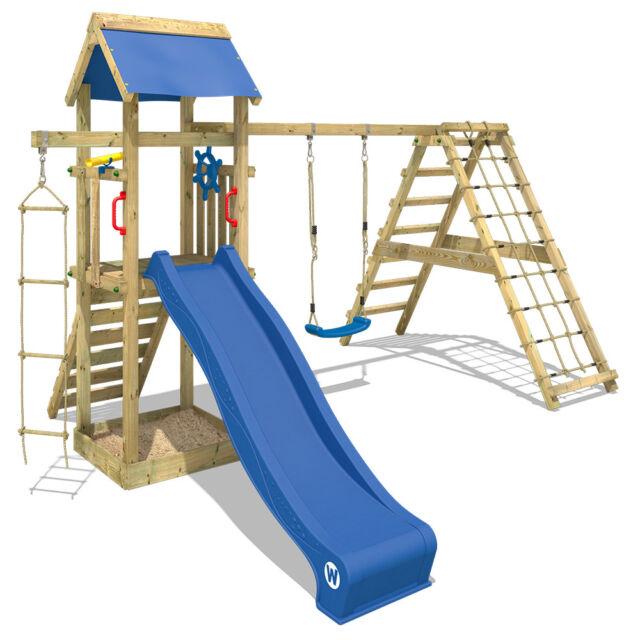 Wickey Spielturm Klettergerüst Smart Park Garten Kletterturm Rutsche