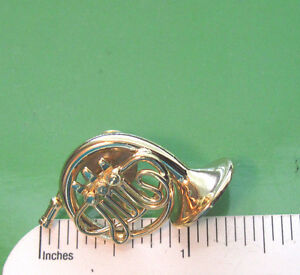 Great Image Is Loading French Horn Miniature Hat Pin Tie Tac Lapel