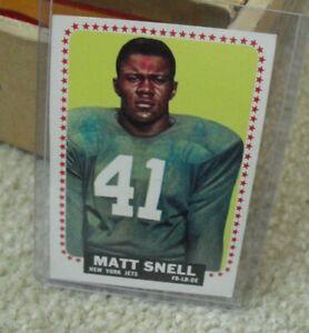 Vintage 1964 Topps Matt Snell Card #125 EX+