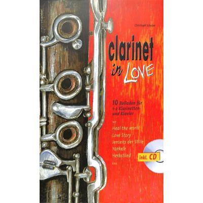 CD Noten 10 Balladen für 1-2 Klarinetten und Klavier Clarinet in Love inkl