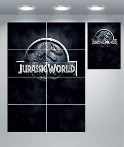 Jurassic World Logo Giant Wall Art poster Print