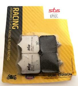 SBS Dual Carbon Front Brake Pads Fits BMW S1000RR 09-14