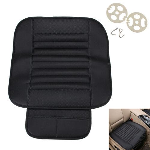 Kissen Car Sitzauflage Sitzbezüge Sitzkissen Sitzmatte PU Leder Bambus Kohle
