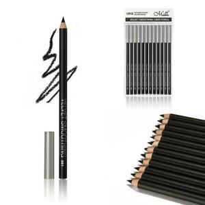 2X-Waterproof-Eyeliner-glatt-schwarz-Schatten-Eyeliner-Bleistift-Eyeliner-Z-H8T8