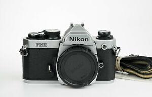 Nikon FM2n New 35mm film camera reflex analogica Nikon ai-s lenses body chrome