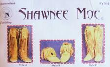 Sioux Moccasin Slipper #Y002 Native American Indian Sewing Pattern Choose Size