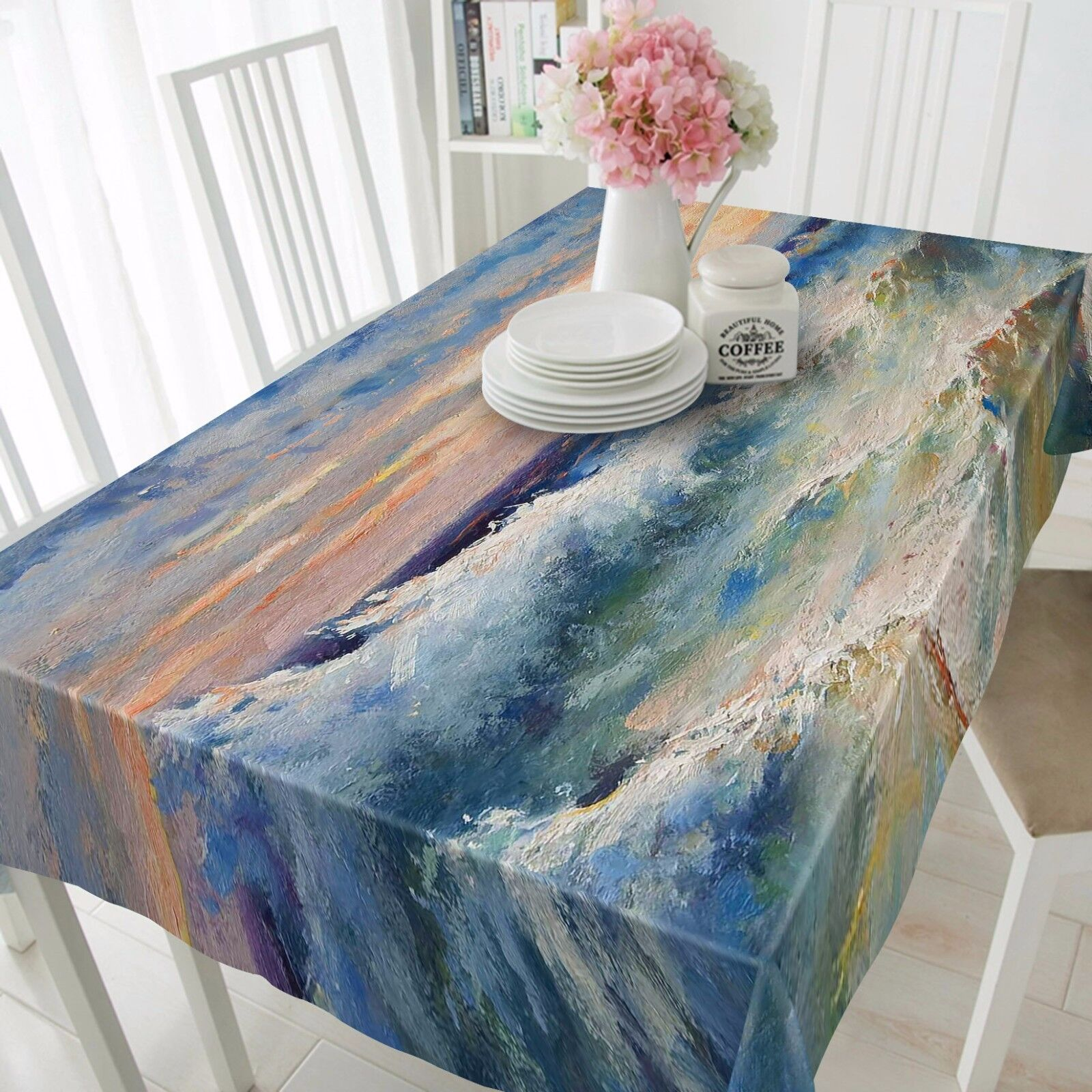 3D Sea wave 79 Tablecloth Table Cover Cloth Birthday Party Event AJ WALLPAPER UK