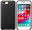 Apple-Echt-Original-Leder-Schutz-Huelle-Case-fuer-iPhone-8-7-Plus-Schwarz Indexbild 1