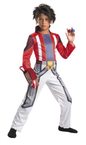Bakugan Dan Kuso Child Costume Battle Brawlers Jumpsuit Fancy Dress 24342